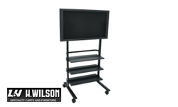 H. Wilson LCD TV Carts and Stands