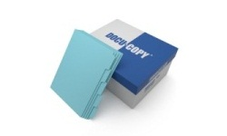 Blue Colored Copier Tabs