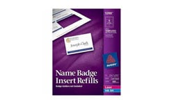 Name Badge Insert Refills