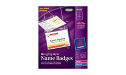 Hanging Style Name Badges