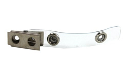 Clear Vinyl Strap Clips