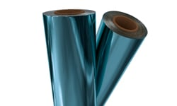 Light Blue Laminating Foils