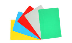 Colored Back Laminating Pouches