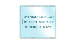 IBM / Data Card Laminating Pouches with Slot