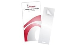 Large Bookmark Size Laminating Pouches with Slot