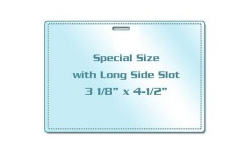 Special Size Laminating Pouches with Slot