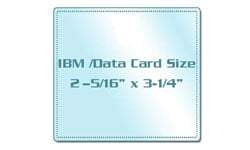 IBM / Data Card Laminating Pouches