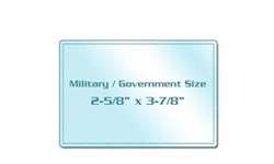 Military / Government Size Laminating Pouches