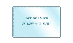 School Size Laminating Pouches