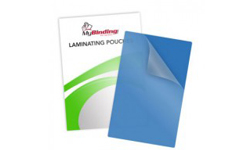 Blue Backed Laminating Pouches