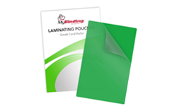 Green Backed Laminating Pouches