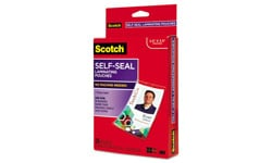 Scotch Self-Sealing Laminating Pouches