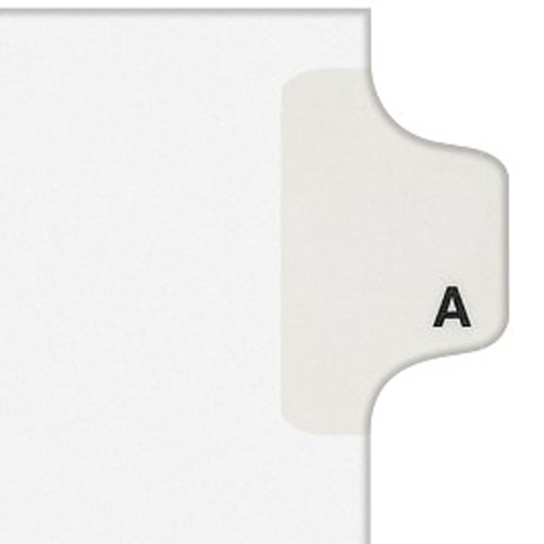 Legal Side Tab Dividers