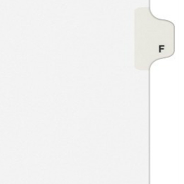 Avery F Individual Legal Index Style Dividers (AVE-01406)