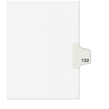 Avery T Individual Legal Index Style Dividers (AVE-01420) - $2.75 Image 1