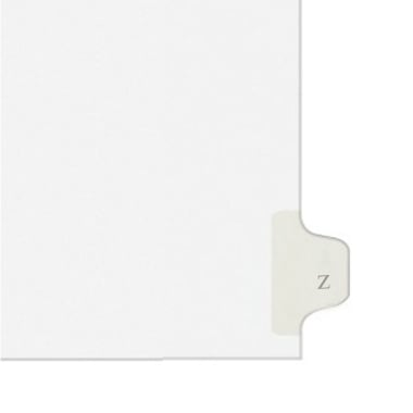 Avery Z Individual Legal Index Style Dividers (AVE-01426) Image 1