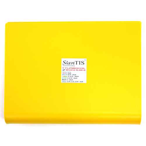 1 1/2 inch Yellow SlanTIS Coil Binding Sleeve (SL-112)