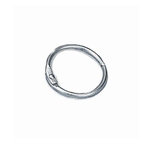 "1-1/4"" Metal Loose Leaf Rings - 100pk (MYBR114S) Image 1"