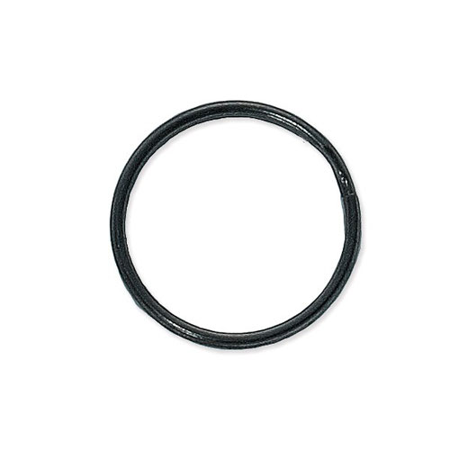 "1-1/8"" Round Edge Heat Treated Black-Oxide Split Ring - 1000pk (6920-1010) Image 1"