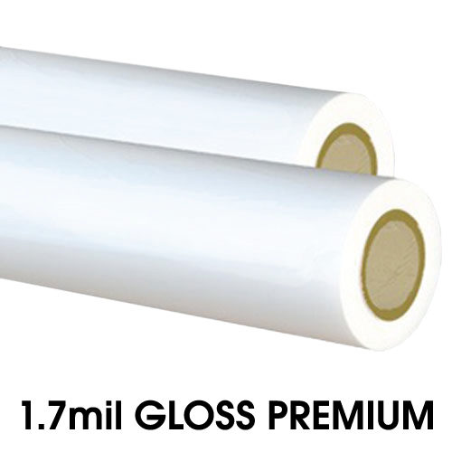 1.7mil Gloss Low Melt Laminating Film - (2.25 Inch Core) (CBD17G500-225) Image 1