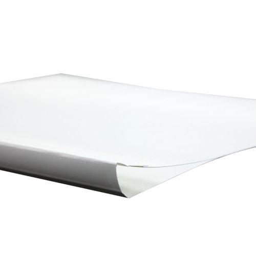 "1/8"" Satin White Thermal Binding Utility Covers - 100pk (BI180WH) Image 1"