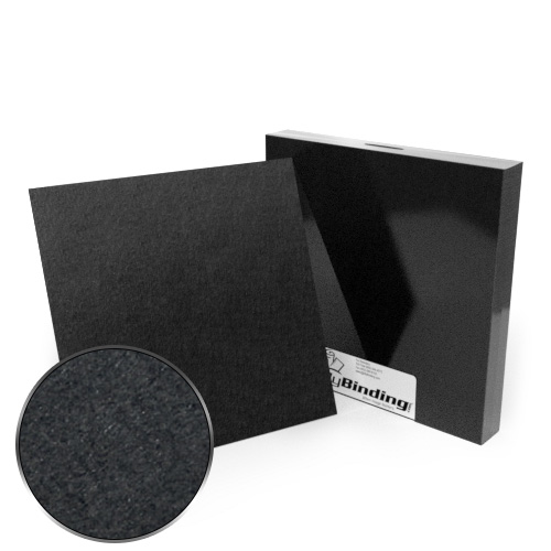 "10"" x 10"" 100pt Black Chipboard Covers - 25pk (MYCBB10X10-100) Image 1"