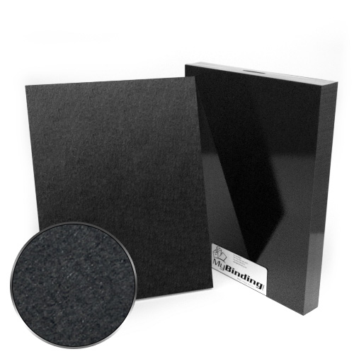 "10"" x 13"" 100pt Black Chipboard Covers - 25pk (MYCBB10X13-100) - $56.43 Image 1"