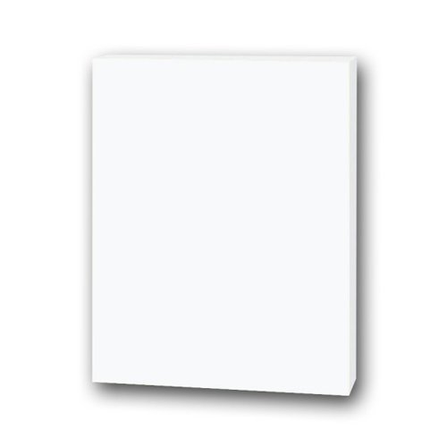 "Flipside 8"" x 10"" White 3/16"" Thick Foam Board Sheets - 25pk (FS-10800) Image 1"
