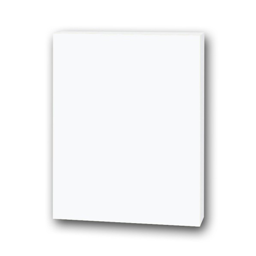 "Flipside 48"" x 96"" White 3/16"" Thick Foam Board Sheets - 25pk (FS-48960) Image 1"