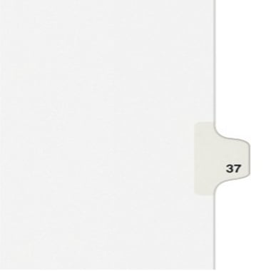 Avery 37 Individual Number Legal Index Style Dividers 25pk (AVE-01037) - $1.89 Image 1