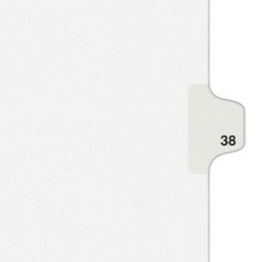 Avery 38 Individual Number Legal Index Style Dividers 25pk (AVE-01038) - $1.89 Image 1