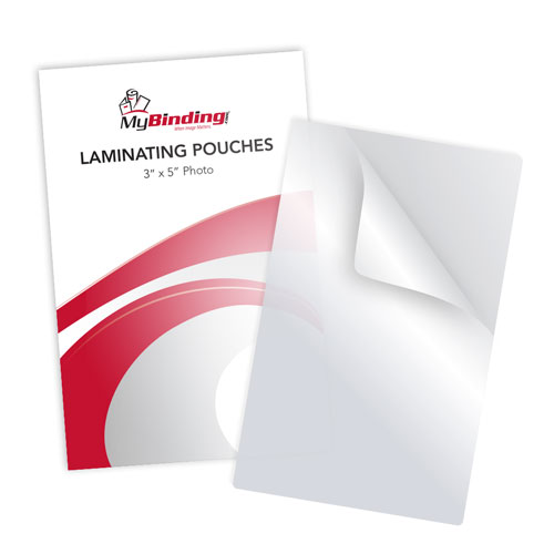 "10MIL 3"" x 5"" Photo Card Laminating Pouches - 100pk (LKLP10PHOTO3x5) - $23.06 Image 1"
