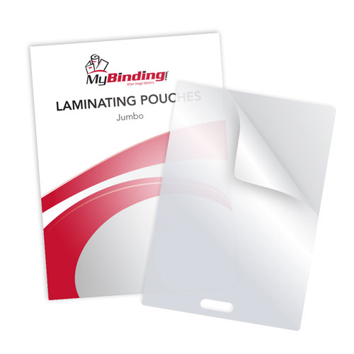 Jumbo Card Size Laminating Pouches Image 1