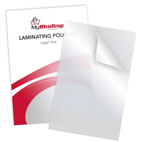 "10MIL Legal Size 9"" x 14-1/2"" Laminating Pouches - 50BX (TLP10LEGAL)"