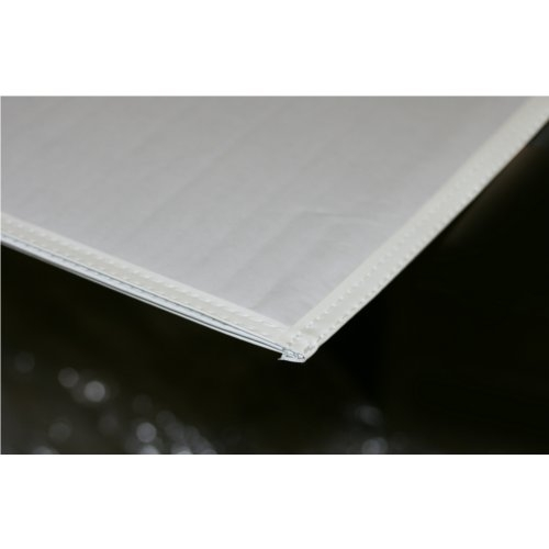 "10mil Rigid Clear PVC 16"" x 20"" Archival Print Pockets with White Sewn Border - 12pk (PSAW1620) Image 1"
