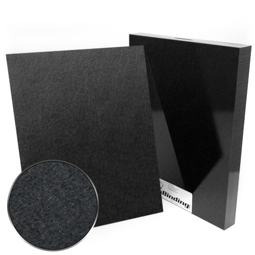 "11"" x 14"" 100pt Black Chipboard Covers - 25pk (MYCBB11X14-100) - $56.43 Image 1"