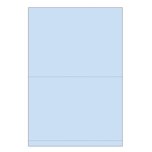 "Zapco 11"" x 17"" Double Perforated .5"" and 9"" from bottom - 500 Sheets (ZAPBF1169) Image 1"