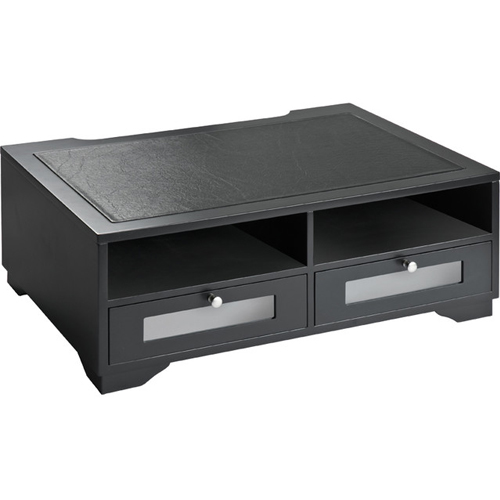Victor Technology Printer Stand with Shelves and Drawers (Midnight Black) (1130-5) Image 1
