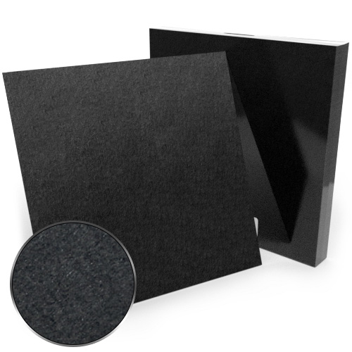"12"" x 12"" 60pt Black Chipboard Covers - 25pk (MYCBB12X12-60) Image 1"