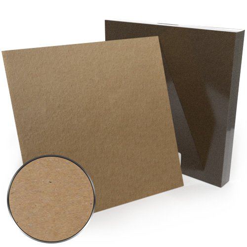 "12"" x 12"" 79pt Chipboard Covers - 25pk (MYCB12X12-79)"