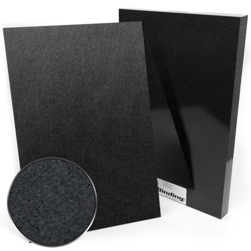 "12"" x 18"" 100pt Black Chipboard Covers - 25pk (MYCBB12X18-100) Image 1"