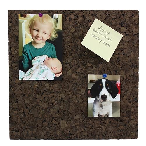 "Flipside 12"" x 12"" Dark Cork Tiles - 4pk (FS-12058) - $9.31 Image 1"