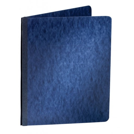 "Oxford 3"" Dark Blue 11""x8.5"" Pressboard Side Hinge Report Cover (ESS-12902) - $2.89 Image 1"