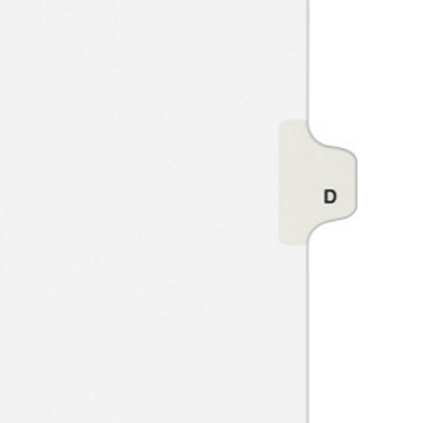Avery D Individual Legal Index Style Dividers (AVE-01404)