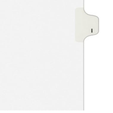 Avery I Individual Legal Index Style Dividers (AVE-01409) Image 1