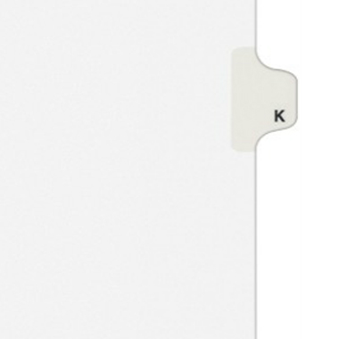 Avery K Individual Legal Index Style Dividers (AVE-01411) - $2.75 Image 1
