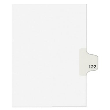 Avery X Individual Legal Index Style Dividers (AVE-01424) - $2.75 Image 1