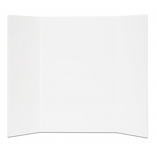 "Flipside 15"" x 20"" White Foam Mini Project Boards - 24pk (FS-31520)"