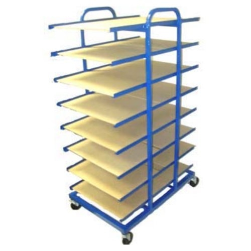 "16-Tray 17"" x 22"" Paper Stock Drying Rack (DR-2), Brands Image 1"