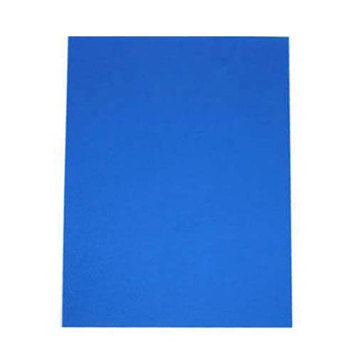 "16mil Blue Leather Grain Poly 5.5"" x 8.5"" Covers (50pk) (AKCLT16CSBL01H) Image 1"